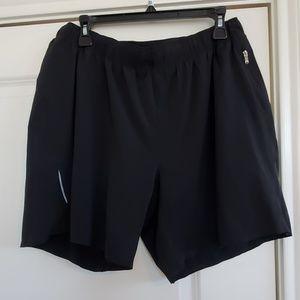 """Lululemon surge shorts w/ liner size xl 7"""""""
